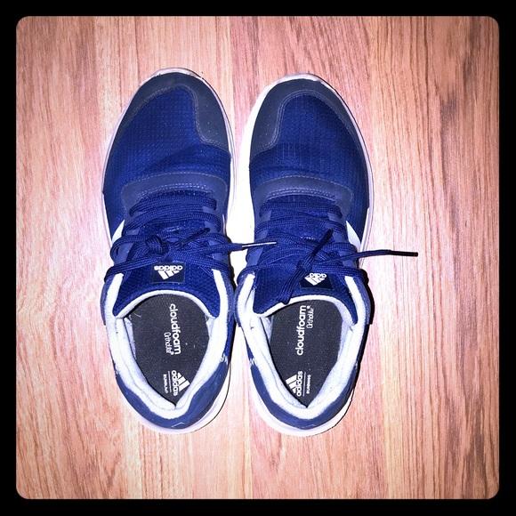 Adidas Royal Blue Athletic Shoes Size 9